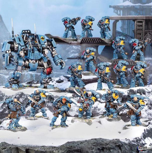 Unités Space Wolves